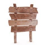 Cartelera de madera Fotografía de archivo libre de regalías