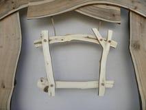 Cartelera de madera Fotografía de archivo