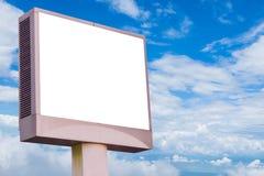 Cartelera del LED aislada Imagen de archivo libre de regalías