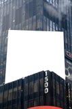 Cartelera lista para hacer publicidad Foto de archivo libre de regalías