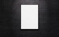 Cartelera publicitaria en blanco imagen de archivo libre de regalías