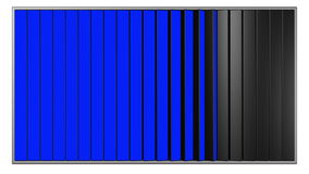 Carteleras con las pantallas azules y verdes libre illustration