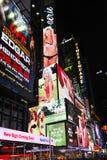 Carteleras del Times Square Fotografía de archivo