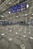Carteleras en aeropuerto Imagen de archivo