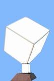 Carteleras en un cubo Imagen de archivo