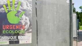 2019 carteles de los candidatos de la elecci?n del Parlamento Europeo metrajes