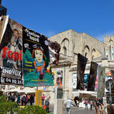 Carteles, festival del teatro de Aviñón Imagen de archivo libre de regalías