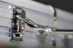 Cartella con la serratura Fotografia Stock