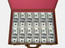 Cartella con soldi illustrazione di stock