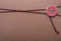 Cartella per fascicoli di Brown Fotografia Stock