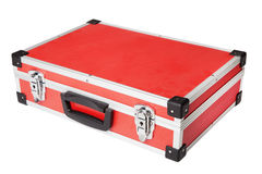 Cartella rossa Fotografia Stock Libera da Diritti