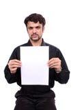 Cartello arrabbiato fotografie stock