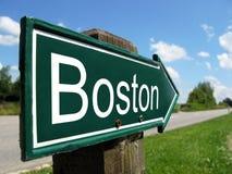 Cartello di BOSTON Fotografie Stock Libere da Diritti
