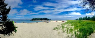 Carter's strand, royaltyfri foto