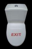 Carter de toilettes avec l'amusement Photographie stock