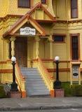 Carter House Inn viktorianska byggnader, Eureka Kalifornien arkivfoto