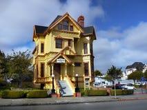 Carter House Inns viktorianska byggnader, Eureka Kalifornien royaltyfri bild