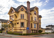 Carter Inn, Victorian building in Eureka, California Royalty Free Stock Photo