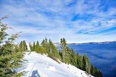 Carter jeziora park narodowy fotografia stock
