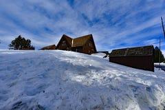 Carter Lake RIM Village Immagini Stock Libere da Diritti