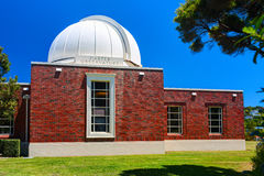The Carter Observatory. Wellington city, New Zealand. WELLINGTON CITY, NEW ZEALAND - 09 JANUARY 2015: The Carter Observatory stands at the top of the Botanic Royalty Free Stock Photos