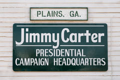 Carter Presidential Campaign Headquarters Royalty Free Stock Photography