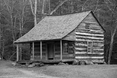 Carter Shields Cabin imagens de stock royalty free
