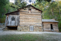 Carter Shields Cabin in Cades-het Nationale Park Tennessee van Inhamgreat smoky mountains Royalty-vrije Stock Afbeelding