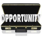 Cartera abierta Job Offer Sales Proposal de la palabra de la oportunidad Fotos de archivo libres de regalías
