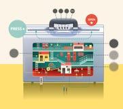 Cartera del negocio libre illustration
