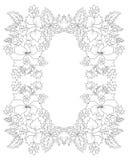 Cartera oriental cinco del diseño de los adornos del otomano stock de ilustración