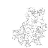 Cartera oriental cuatro del diseño de los adornos del otomano libre illustration