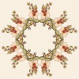 Cartera oriental diez del diseño de los adornos del otomano ilustración del vector
