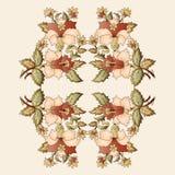 Cartera oriental doce del diseño de los adornos del otomano stock de ilustración