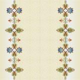 Cartera oriental dos del diseño de los adornos del otomano libre illustration