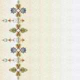 Cartera oriental una del diseño de los adornos del otomano libre illustration