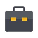 Cartera plana del icono Imágenes de archivo libres de regalías