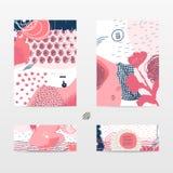Cartes abstraites de conception Photographie stock libre de droits