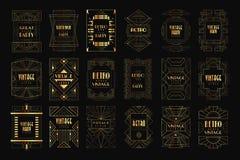 Cartes avec le modèle asiatique traditionnel, conception originale, illustrations colorées de vecteur de texture décorative de ca illustration libre de droits