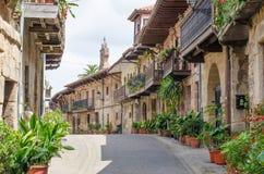 Cartes, Cantabrië, Spanje Stock Foto's
