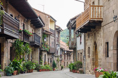 Cartes, Cantabria, Spain. Royalty Free Stock Images