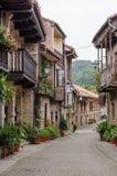 Cartes, Cantabria, Spain. Stock Image