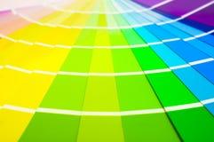 Cartes d'échantillon de couleur Image stock