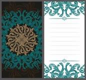 Cartes d'invitation illustration libre de droits