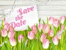 Cartes d'invitation de mariage ENV 10 Images libres de droits