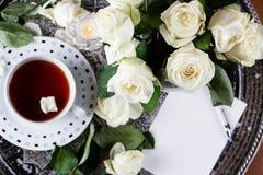 Cartes d'invitation ou lettre d'amour Anniversaire, ` s, valentines de mère, Photos stock