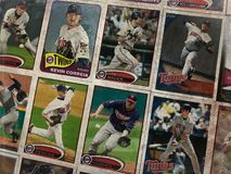 Cartes de collection de base-ball de Minnesota Twins photos stock