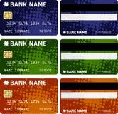 Cartes de crédit illustration libre de droits