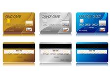 Cartes de crédit Photo libre de droits