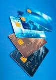 Cartes de crédit Photo stock